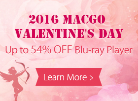 Macgo 2016 Valentine's Day Promotion