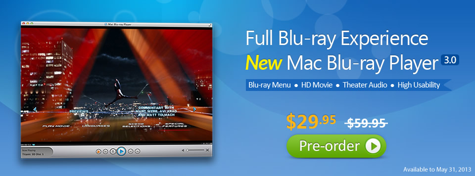 The banner of Mac Blu-ray Player