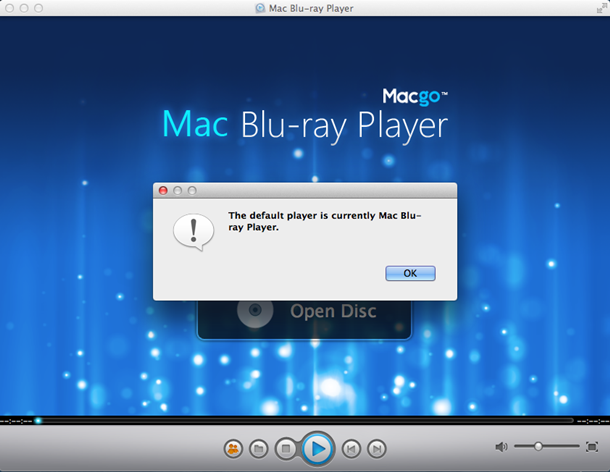 how to change default movie player