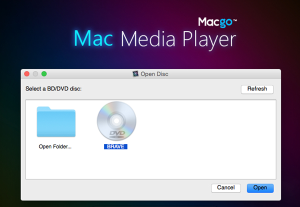 How to use Mac Media Player to play DVD on Mac