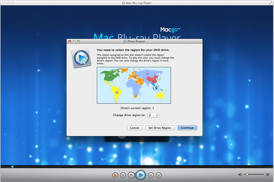 Macgo Blu-ray Player for Windows Screenshot