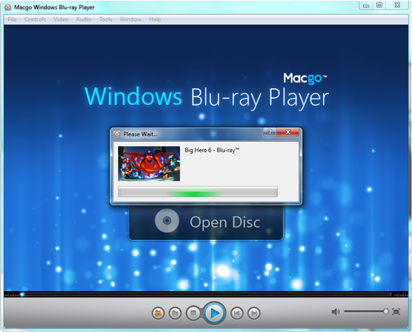 blu ray player software free windows 10