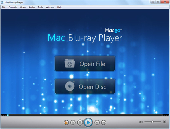 Mac Blu-ray Player for Windows Screen shot