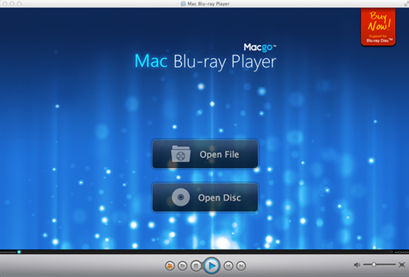 Click to view Mac Bluray Player 2.17.2 screenshot