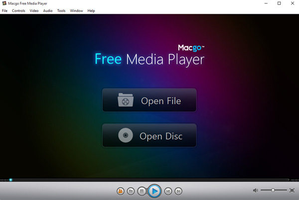 Click to view Macgo Free Media Player screenshots