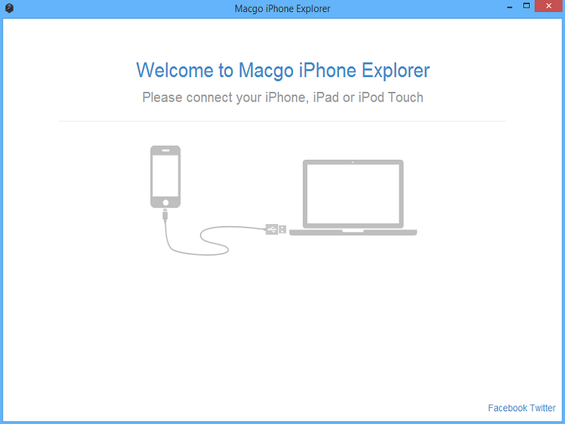 Macgo Free iPhone Explorer Screen shot